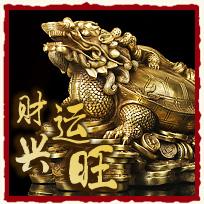 郑博士吉祥物 铜龙龟